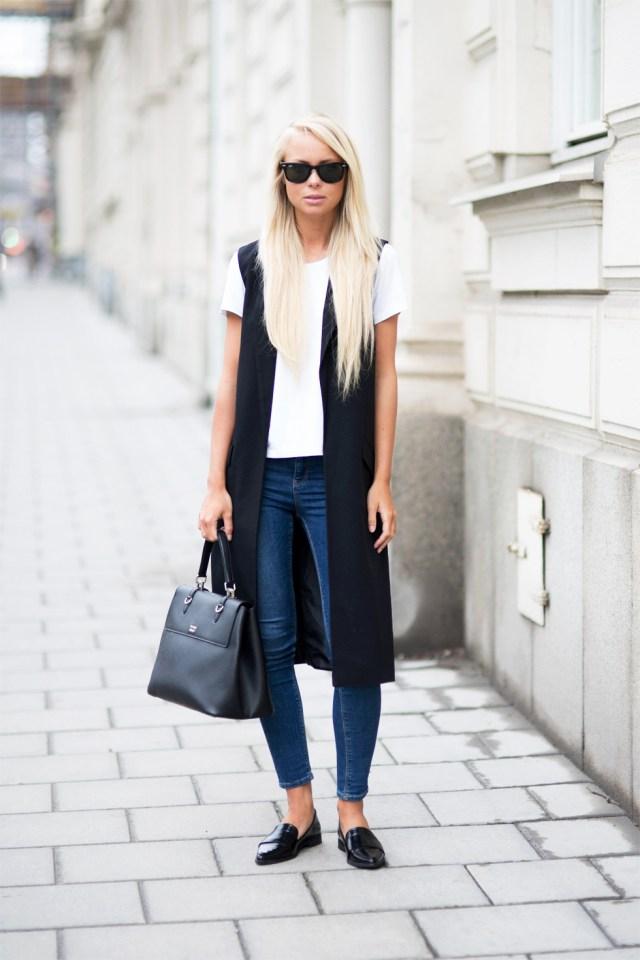 Лоферы с джинсами – фото новинки сезона