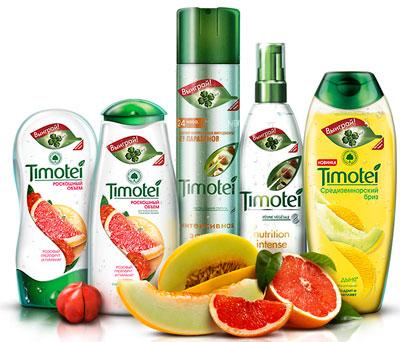 Timotei - новая серия средств по уходу за волосами