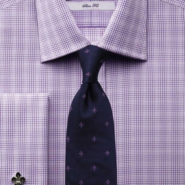Фото новинка: мужская рубашка в клетку в деловом стиле