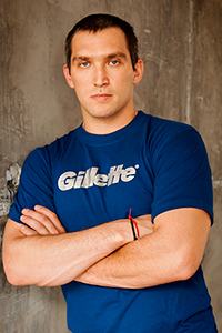 Александр Овечкин представит бренд Gillette на Зимних Олимпийских играх 2014 в Сочи