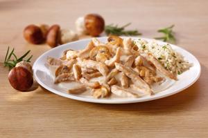 Knorr «На второе» — «Куриный строганов с белыми грибами»