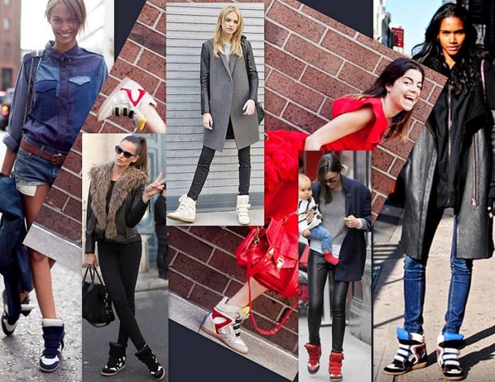 Кроссовки на платформе - какие бывают, и с чем их носить?