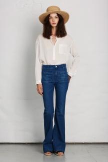 Модные джинсы 2014 – укороченные джинсы. Joie весна лето 2014.