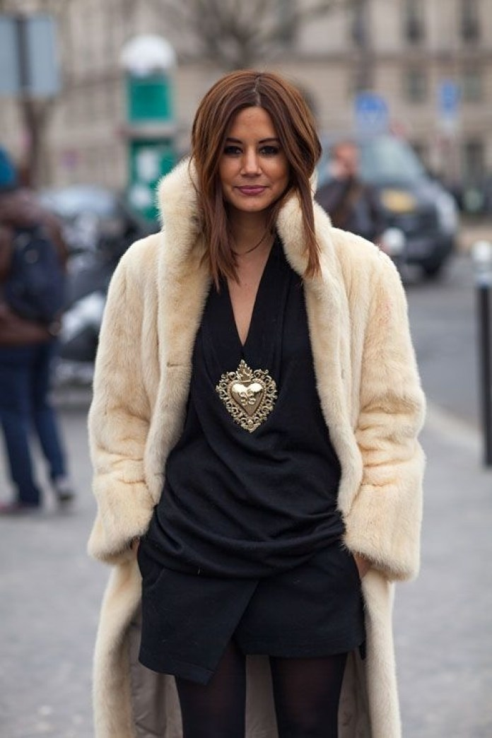 Фото новинки: модная шуба
