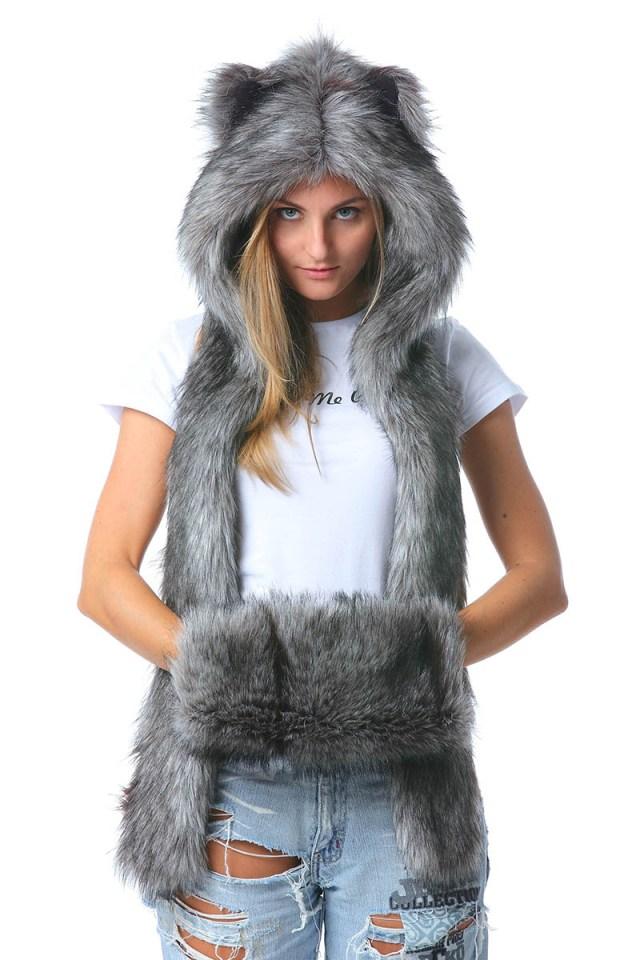 Фото модной шапки волкошапки - популярные модели