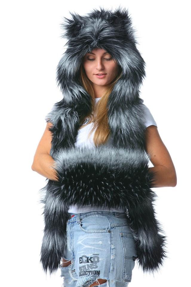 Модная шапка волкошапка – фото новинки сезона