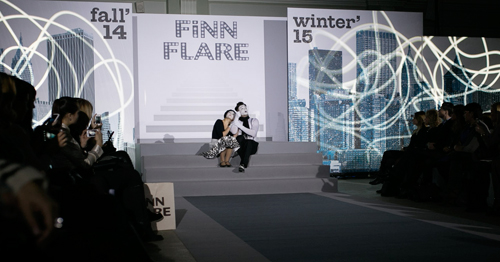 Finn Flare - показ зима 2014