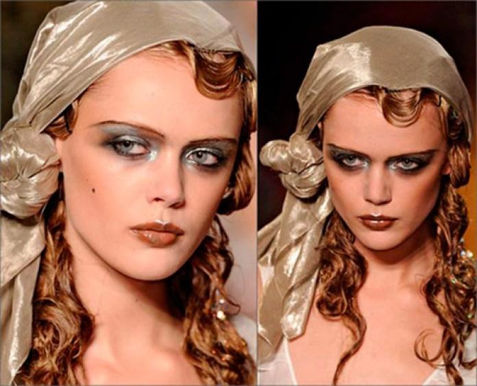 Как красиво завязать платок на голове цыганским способом