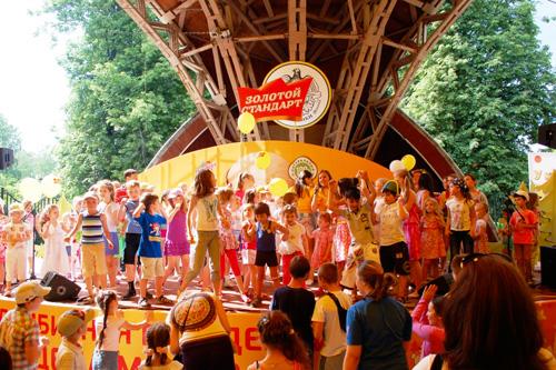 Праздник мороженого в Сокольниках
