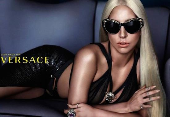 Леди Гага представила новую коллекцию очков Versace