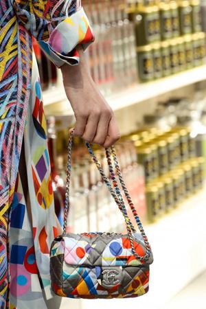 Цветная модная сумочка осень-зима 2014-2015 – Chanel