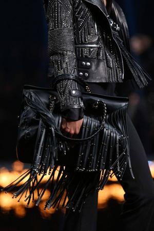 Модная сумка осень-зима 2014-2015 с бахромой – Roberto Cavalli