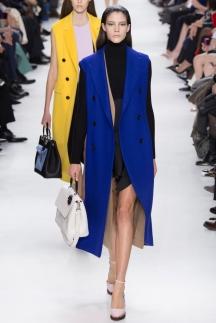 Модный длинный пиджак осень-зима 2014-2015 – Christian Dior