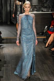 Длинное модное платье осень-зима 2014-2015 - Douglas Hannant