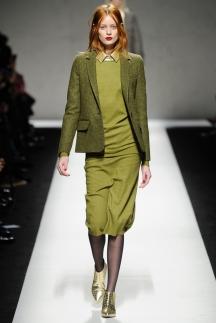 Шикарный зеленый пиджак, модный в сезоне осень-зима 2014-2015 – Max Mara