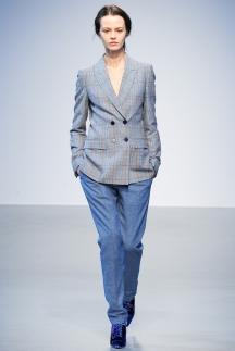 Серо-голубой модный пиджак осень-зима 2014-2015 – Richard Nicoll