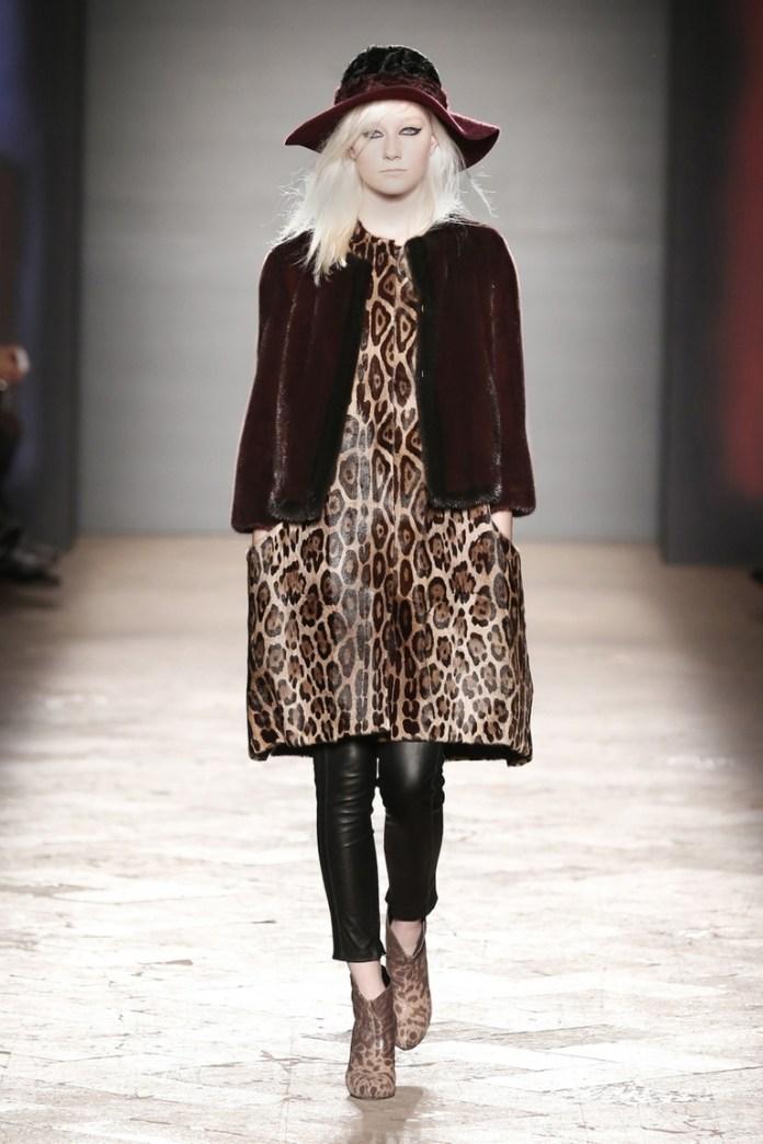 Леопардовое платье от Simonetta Ravizza