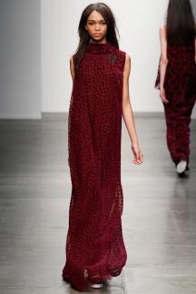 Модное длинное повседневное платье осень-зима 2014-2015 – Karen Walker