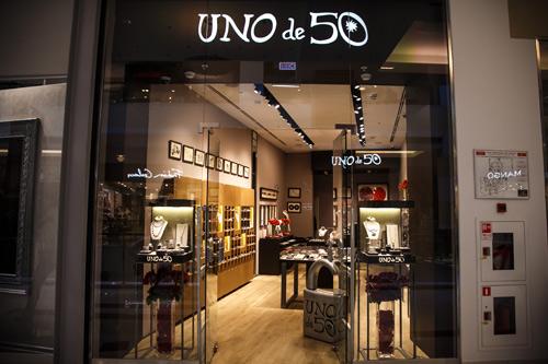 Открытие магазина UNOde50