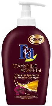 Крем-мыло Fa Гламурные Моменты Эликсир Амаранта & Черная Орхидея