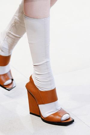 Модные туфли весна лето 2015 Jil Sander
