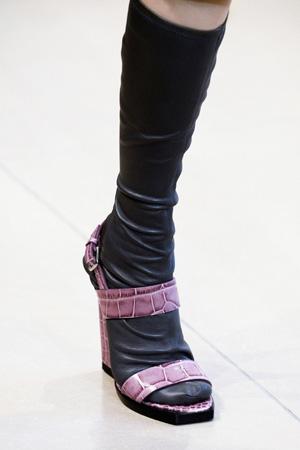 На фото: модные туфли весна лето 2015 Jil Sander