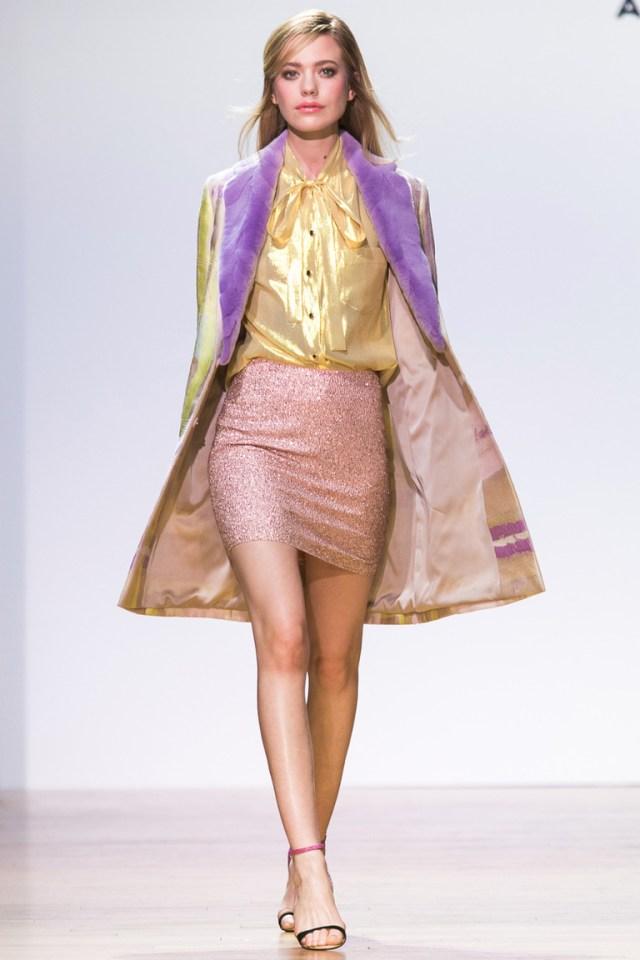 Золотистая модная блузка Alexander Terekhov