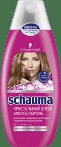 Новинка от Schauma: жидкие микрокристаллы для ослепительного блеска волос