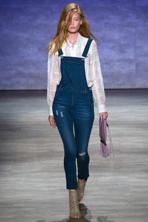 Модные джинсы весна лето 2015 – джинсовый комбинезон – Rebecca Minkoff