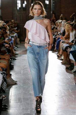 Широкие джинсы в стиле кэжуал весна лето 2015 – Rodebjer