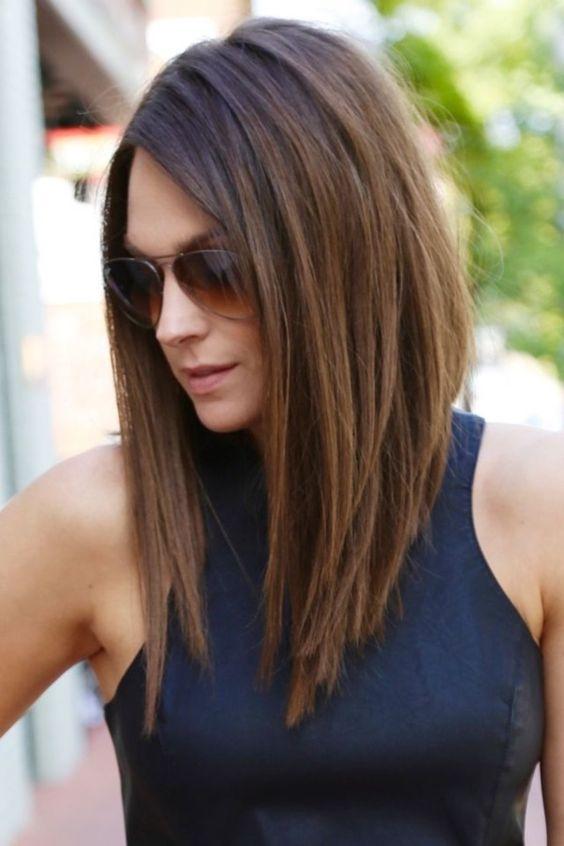 Какие стрижки с длинными волосами в моде