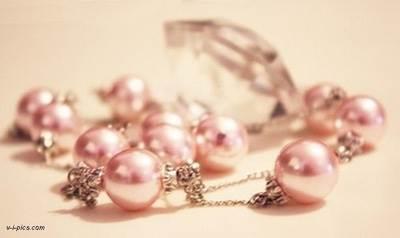 Розовый жемчуг фото
