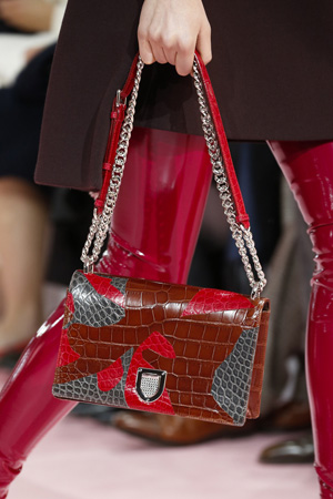 Яркая модная сумка осень зима 2015 2016 фото новинки – Christian Dior