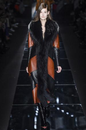 Длинное модное пальто осень-зима 2015-2016