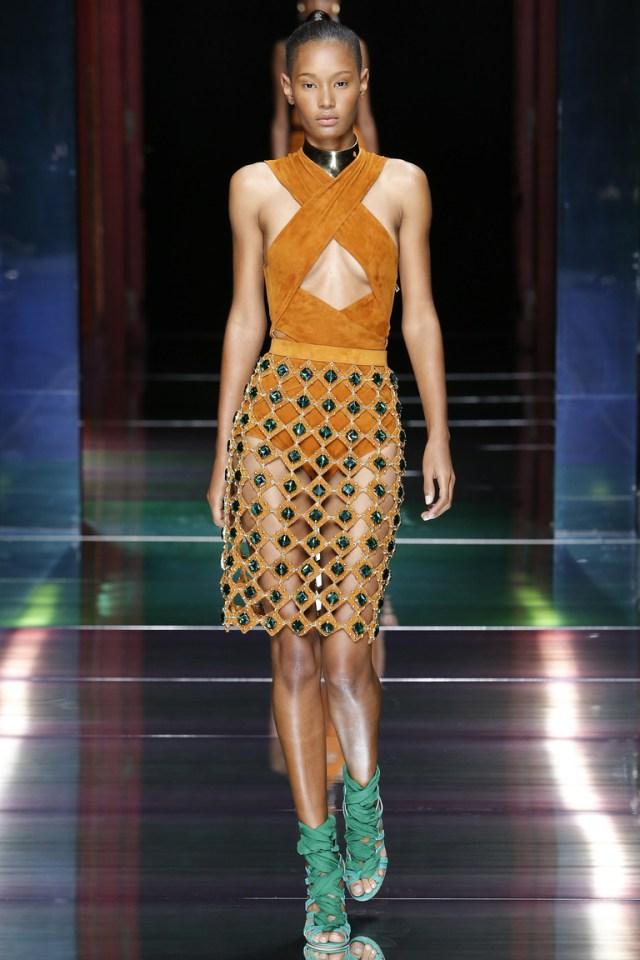 Balmain весна-лето 2016 - неделя моды в Париже 2016