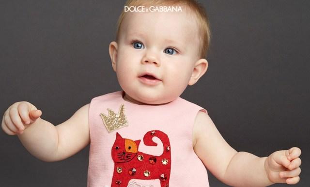 Dolce & Gabbana для малышей – коллекция 2016