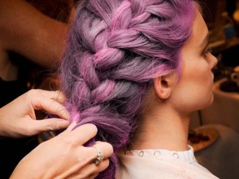 Новые плетения на волосах