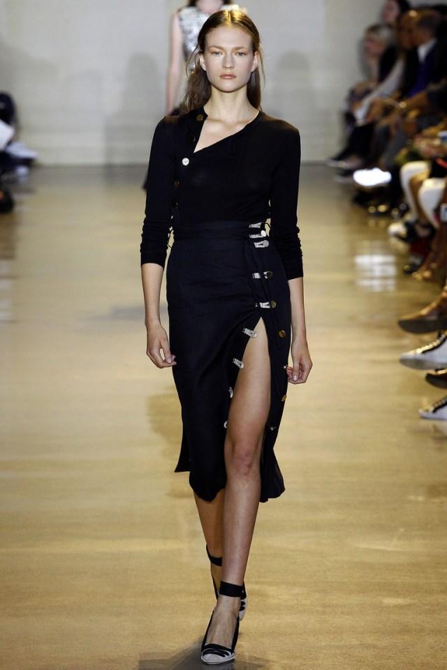 Модная черная юбка карандаш 2016 – фото новинка от Altuzarra