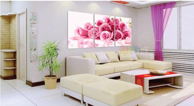 Модульные картины с розами своими руками