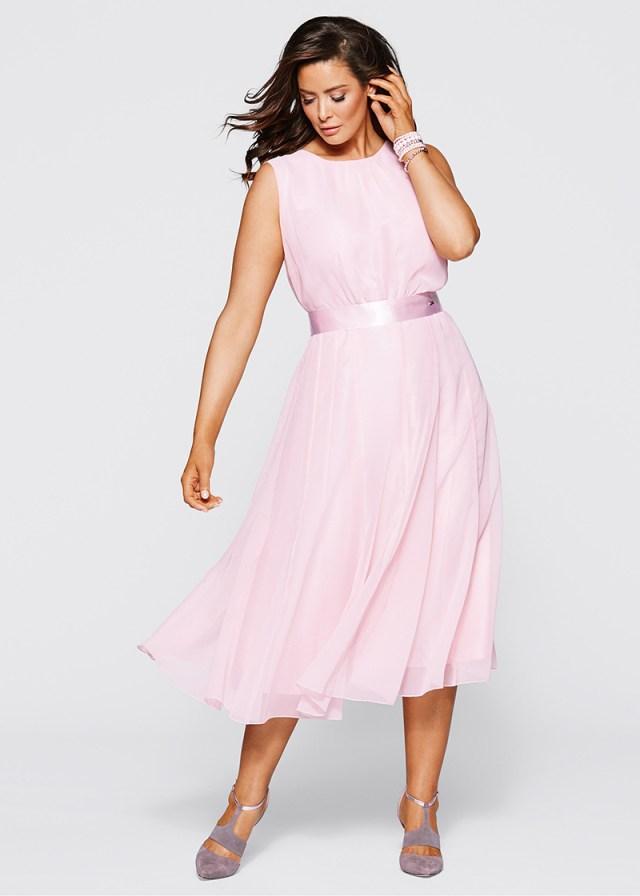 Модное платье больших размеров на каждый день
