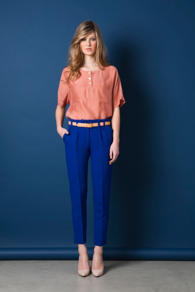 Женские брюки чинос-фото