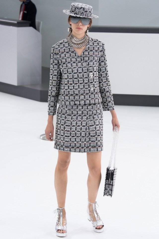 Модная модель юбки 2016 – фото новинка от Chanel