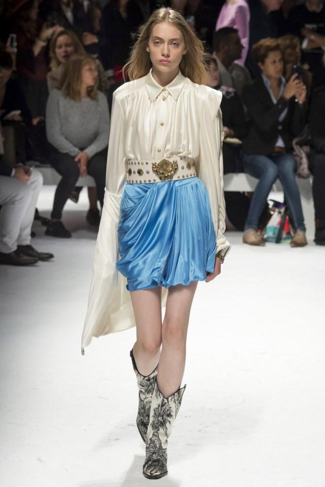 Модная блузка 2016 с длинным рукавом – фото новинка от Fausto Puglisi
