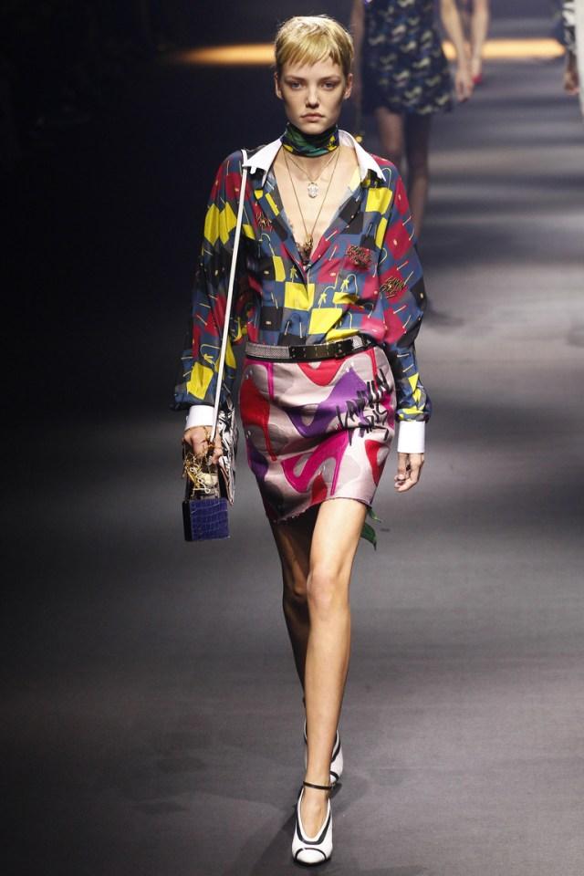 Цветная модная блузка 2016 – фото новинки от Lanvin