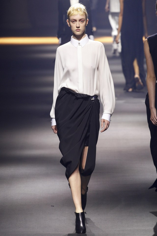 Фото новинки: модная белая блузка 2016 – коллекция Lanvin