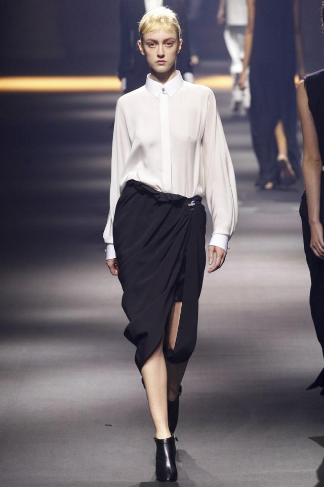 Модная длинная модель юбки 2016 года – фото новинка от Lanvin