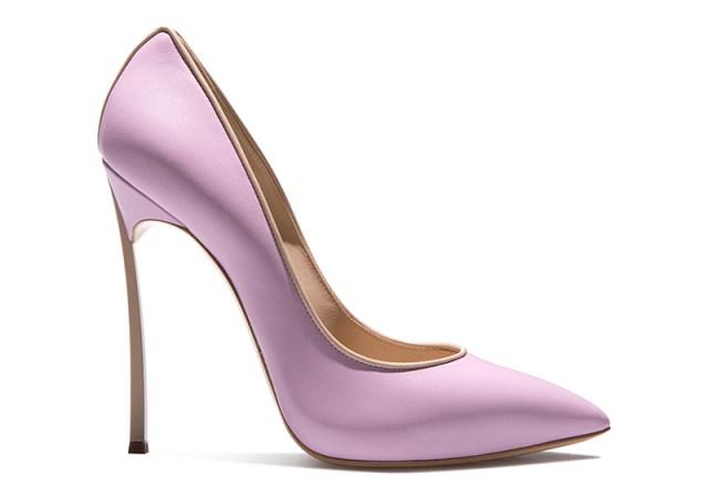 Модные изящные туфли из новой коллекции Casadei Blade