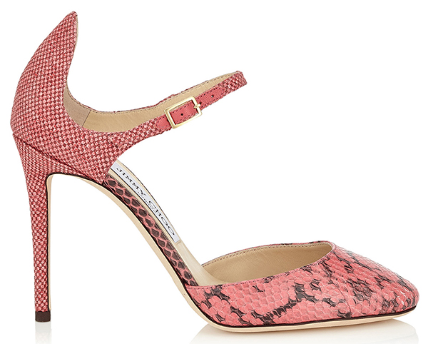 Розовые туфли лодочки Jimmy Choo – фото новинки и тренды новой коллекции