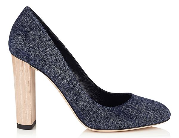 Классические туфли Jimmy Choo, подойдут под любой деловой наряд