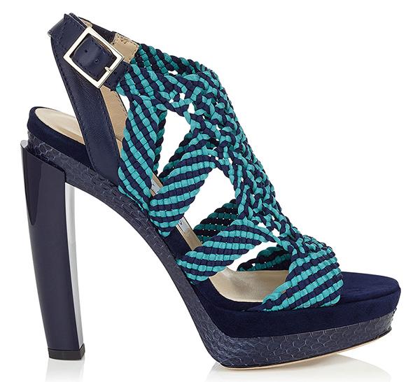 Модные туфли с переплетением – фото новинки и тренды в коллекции Jimmy Choo